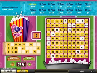 Play Pop Bingo Arcade Online