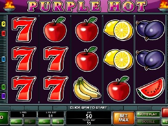 Spielen sie Purple Hot Spielautomaten Online
