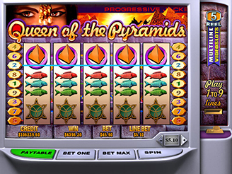 Play Queen Pyramids Slots Online