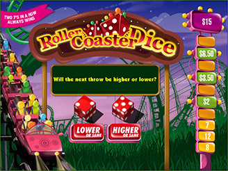 Play Rollercoaster Dice Arcade Games Online