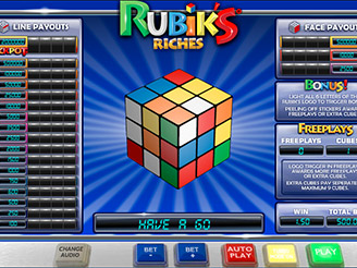 Play Rubik's Riches Arcade Online