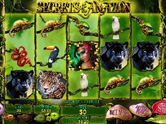 Spielen sie Secrets of the Amazon Spielautomaten Online