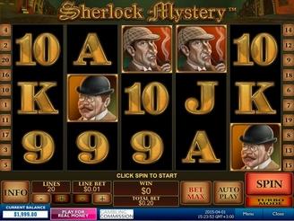 Play Sherlock Mystery Online