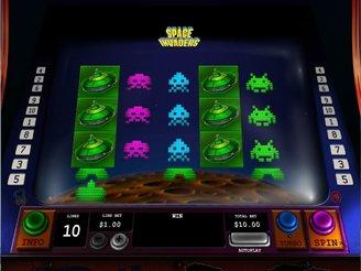 Play Space Invaders Slots Online
