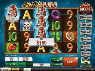 Play Streak of Luck Online