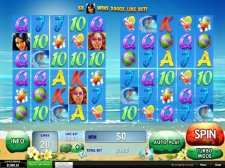 Play Sunset Beach Slots Online