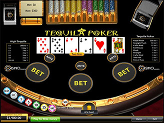 Play Tequila Video Poker Online