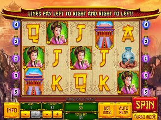 Play The Great Ming Empire Online Pokies