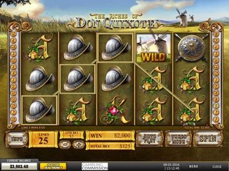 Play The Riches of Don Quixote Slots Online