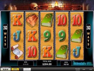 Spielen sie The Alchemist's Spell Spielautomaten Online