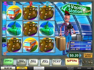 Spielen sie Vacation Station Deluxe Spielautomaten Online