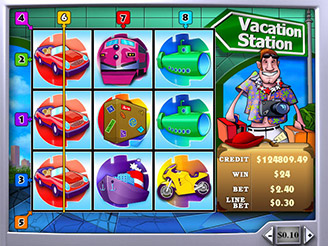 Play Vacation Station Online Pokies