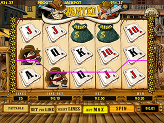 Play Wanted: Dead or Alive Online Pokies