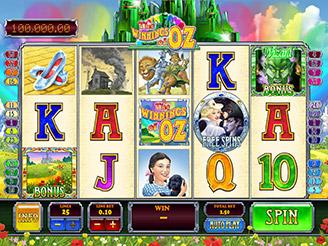 Play The Winnings of Oz Slots Online