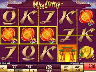 Play Wu Long Slots Online