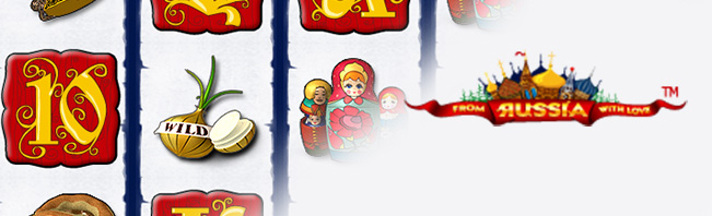 From Russia with Love Spielautomaten