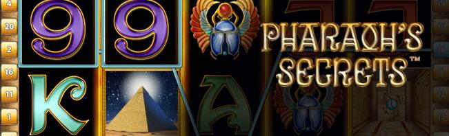 Pharaoh's Secrets Spielautomaten